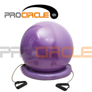 PVC Yoga Gym Ball Exercise Fitness Balance Ball (PC-YB4001) pictures & photos
