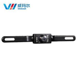 Waterproof Night Vision License Plate Type Car Rearview Camera pictures & photos