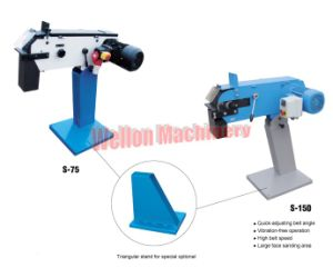 Ce Quality Belt Grinder Belt Grinding Machine Model S75 pictures & photos