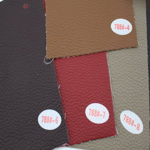 Manufacturer Selling PVC Synthetic Leather for Furniture (Hongjiu-788#) pictures & photos