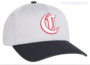 6 Panels Pre Curve White Coolport Mesh Back Cap with Velcro Ajustable Cap pictures & photos