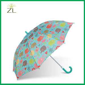 Full Cartoon Printing 2 Folding Kid Umbrella pictures & photos