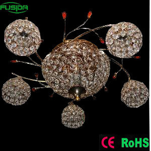 Different and Unique Design Diamond Crystal Pendant Lighting (X-9472/5+1) pictures & photos