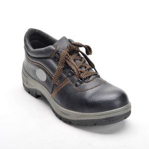 Safety Shoes with Steel Toe and Steel Plate PU Outsole Low Cut