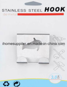 H1005 Stainless Steel Over Door Hook Hanging Hook Load 3.0kgs