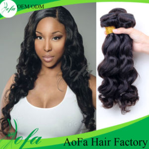 100% Raw Wholesale Unprocessed Body Wave Virgin Brazilian Hair Extension pictures & photos