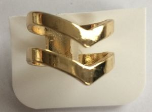 Wholesale Simple Metal Gold Ring Fashion Jewelry