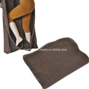 Polar Fleece Blanket with Pocket (SSB0183) pictures & photos