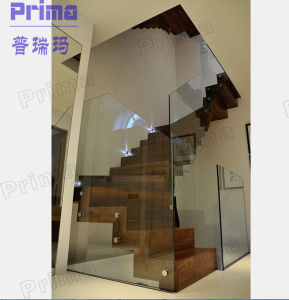 Modern Frameless Tempered Glass Railing pictures & photos