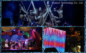 Show and Stage Used Flex LED Curtain (FLC -100) pictures & photos