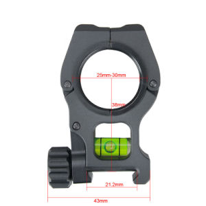 Tactical Rifle Scope Mount with Bubble Level Fits 21.2 mm Rail Cl24-0171 pictures & photos