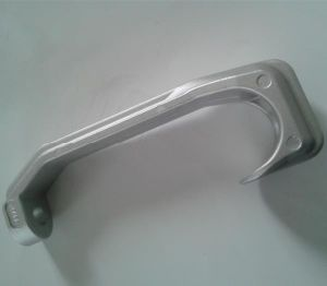 Metal Casting Technology Aluminum Red Meat Hook for Slaughter Equipment pictures & photos