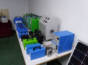 Hot Sale 50W AC Solar Home System From Chinese Factory with Pure Sine Wave Inverter pictures & photos