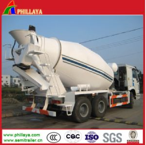 Phillaya Made Bulk Tank Semi Trailer / Cement Mixer Truck pictures & photos