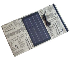 Factory Original Solar Mobile Phone Power Bank Charger 30W 5V 2000mA 18V 1700mA pictures & photos