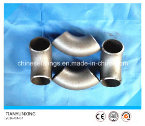ASTM B16.9 Seamless Carbon Steel A234 Wpb Pipe Fittings Elbow pictures & photos