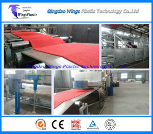 Plastic PVC Car Mat Making Line / PVC Coil Carpet Matting Extruding Machine pictures & photos