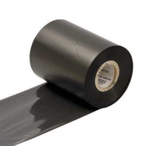 Wax Resin TTR Ribbon, Thermal Transfer Ribbon, Black Barcode Printer Ribbon, Rolled Thermal Ribbon