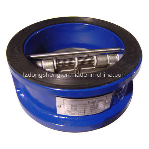 Dual Plate Wafer Butterfly-Type Check Valve pictures & photos
