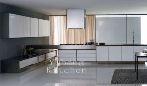 High Gloss/Matt Finished Lacquer Kitchen Cabinet (M-L49) pictures & photos