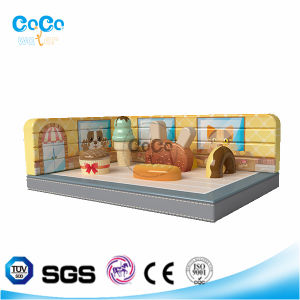 Cocowater Design Inflatable Cake Shop Theme Bouncer LG9024