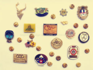 Customized Offset Printed Lapel Pin pictures & photos