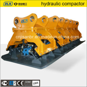 Hydraulic Excavator Vibration Plate Compactor for Foundation Punning pictures & photos