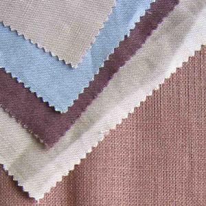 Linen Viscose Plain Dyed Fabric pictures & photos