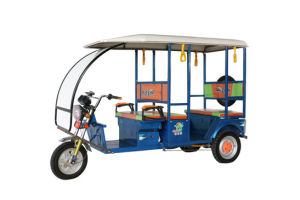 Indian Most Popular Vehicle Electric Tricycle/E-Rickshaw with Passenger Seats pictures & photos