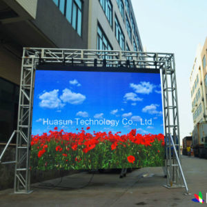 Cylinder Flexible LED Screen, Full Color Video Wall pictures & photos