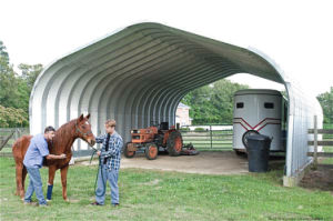 Prefabricated Light Steel Structure Horse Riding Barn (KXD-89) pictures & photos