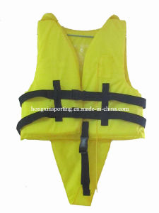 Good Nylon and EPE Foam Life Jacket (HXV0006) pictures & photos