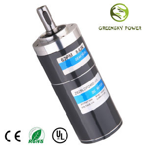 GS High Quality Long Life 6W~400W 12W~48V Electrical DC Brushless Motor pictures & photos