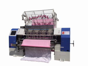 Dongguan Yuxing High Speed Quilting Machine Sewing, 2meters Duvet Shuttle Quilting Machine, 76 Inches Multi-Needle Quilter pictures & photos