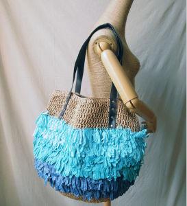 European Stylish Rattan Straw Bag Hand Shoulder Bag pictures & photos