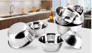 Stainless Steel Food Mixing Deepen and Thicken Basin (JH-002) pictures & photos