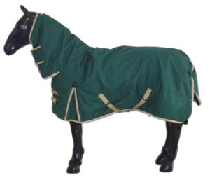 Green Ripstop Winter Horse Rugs for Horse (SMRU1218B) pictures & photos