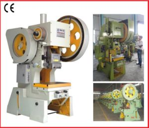 25 Tons Mechanical Power Press,25 Tons Mechanical punching machine,25 Ton C frame punching press pictures & photos