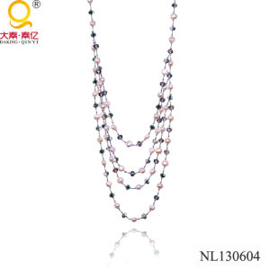 Pearl and Crystal Necklace by China Manufacturer pictures & photos