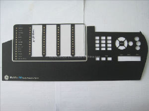 Embossed CNC Printing Film Panel Overlay Membrane Keyboard pictures & photos