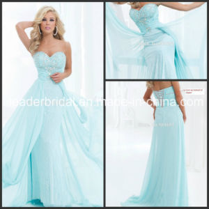 Sheath Formal Gowns Sheer Red Carpet Celebrity Evening Dresses Z509 pictures & photos