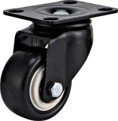 Light Duty-03 Series Black PU Caster