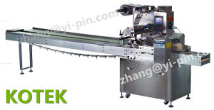 Automatic Packing Pillow Pack Florentines Wrapper Horizontal Flow Granola Bar Packaging Wrap Equipment Follow Wrapping Machine pictures & photos