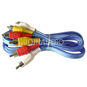 Audio Cable 3RCA to 3RCA Cable (3R-3R AL-BL) pictures & photos