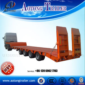 Lowboy Flatbed Gooseneck Semi Trailers for Sale pictures & photos