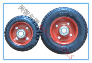 6X2 Agricultural Machine Tyre Solid Rubber Wheel pictures & photos
