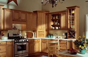 Economic European Unique Style Kitchen Furniture