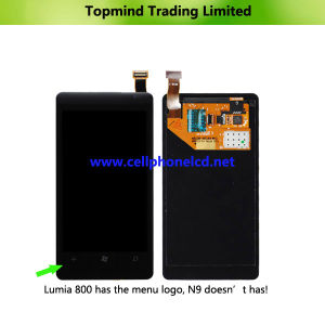 LCD Screen with Touch Screen Panel for Nokia Lumia 800 pictures & photos