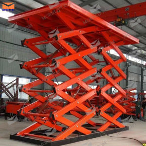 Electric Double Scissor Lift Table for Heavy Duty pictures & photos