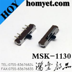 4pin DIP Slide Switch/Push Button Switch with ISO Certification (MSK-1130) pictures & photos